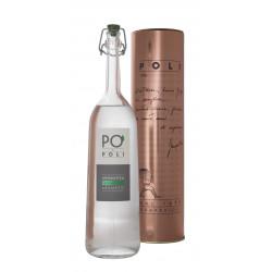 Grappa Pò di Poli Aromatica 40° Distilleria Jacopo Poli con tubo di rame