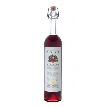 Liquore alla Grappa Poli Mirtillo 28° Distilleria Jacopo Poli