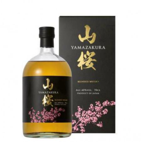WHISKY YAMAZAKURA Blended 40°  Sasanokawa Shuzo Distillery   Koriyama – Giappone