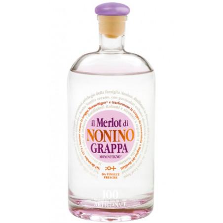 Grappa il Merlot di Nonino 41° Nonino Distillatori 2,0 L.