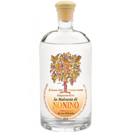 ÙE ®  L'Aquavite D'Uva il Malvasia 38° Nonino Distillatori (3 Pezzi)