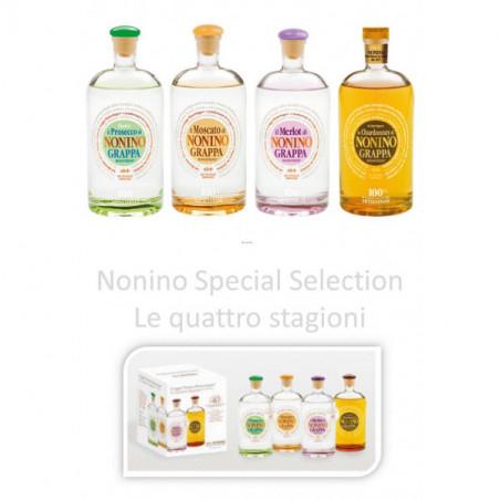 Confezione Speciale Selection  Le quattro Stagioni Nonino Distillatori