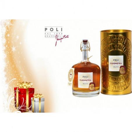 Grappa Cleopatra Amarone Oro Astucciata Distilleria Jacopo Poli