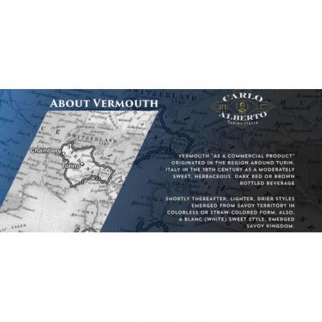Red Vermouth 18° Riserva Carlo Alberto