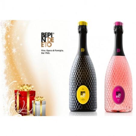 Gift Box - The magic of Prosecco  Extra Dry e Flavè - Bepin de Eto