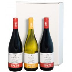 Gift Box - Organic Wines of Trentino from the Pisoni Winery