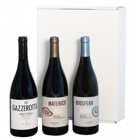 Gift Box - Sicily and the Organic Wines of Pellegrino