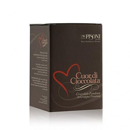 Liquore Cuor di Cioccolata con Cialdine  - Pisoni