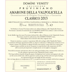 Amarone della Valpolicella Classico Docg Collezione Pruviniano - Domini Veneti