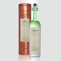 Distillato Uva Viva Italiana 40° Distilleria Jacopo Poli con tubo di rame