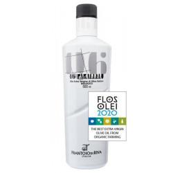 Olio extra vergine d'oliva Biologico - Purezza naturale 46° PARALLELO - BIOLOGICO - FRANTOIO RIVA DEL GARDA 0,50 L.