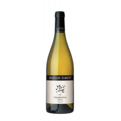 White wine Chardonnay Classic Goriška Brda 2018-cz