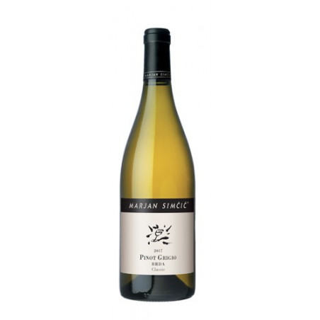 White wine Pinot Grigio Classic Goriška Brda 2018-cz