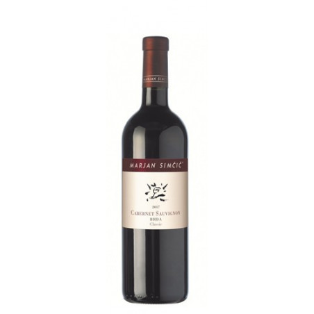 Red wine Cabernet-Sauvignon Goriška Brda 2018-cz