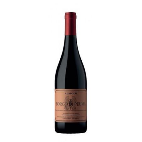 Red Wine Borgo di Peuma Igt Azienda Agricola Russolo-cz