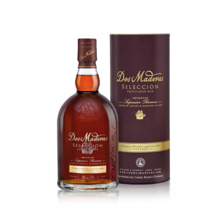 RON DOS MADERAS SELECCION - 1 bottle of 0,70l. - WILLIAMS & HUMBERT - m