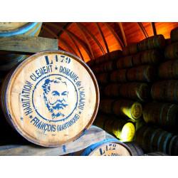 """RHUM BLANC AGRICOLE """"CANNE BLEUE"""" - 1 bottle  0,70l. - CLÉMENT - mg"""