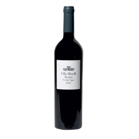 Red Wine Merlot Vecchie Vigne Veneto IGT Villa Minelli -cz