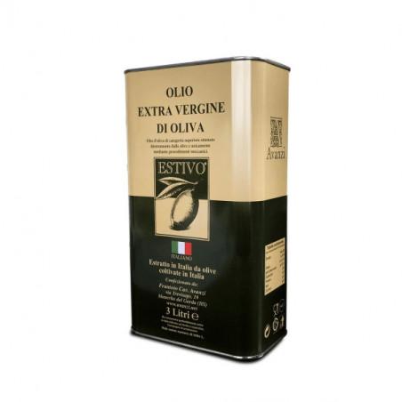 Latta 3L.  Summer Extra Virgin Olive Oil -Frantoio Avanzi
