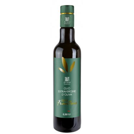 6 Bottles 0.500L. Extra Virgin Olive Oil  Frantoio - Avanzi