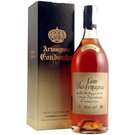 """Bas Armagnac Reserve """"Magnum 1,5l"""" 40% Veuve Goudoulin"""
